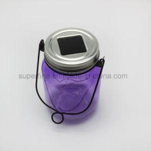 Hot Blink LED Rice Light Solar Powered Garden Hanging Glass Mason Jar pictures & photos