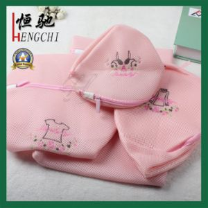 4PCS High Quality Polyester Mesh Laundry Bag Set pictures & photos