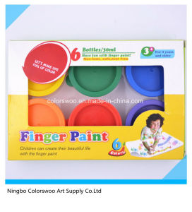6*24ml Finger Paint in Color Box for Kids and Students pictures & photos