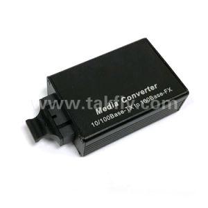 Mini Type Dual Fiber 100m Fiber Optic Media Converter pictures & photos