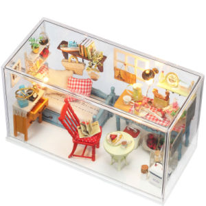 Mediterranean Style Bedroom Sets Mini Furniture Doll House pictures & photos