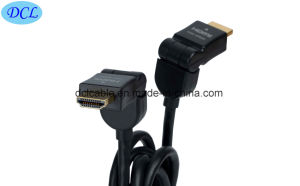 180 Degree Rotating HDMI Cable pictures & photos