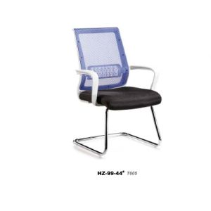 Luxury Net-Cloth Back-Rest Chair with Steel Leg pictures & photos
