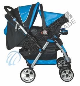 Dual Function Baby Stroller with Car Seat pictures & photos