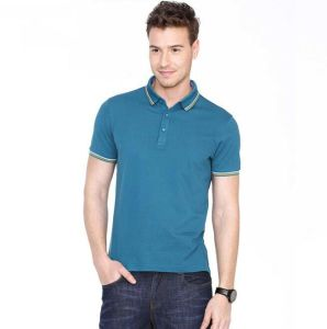 Slim Fit Men Polo Shirt /Custom Embroidery Polo Shirts pictures & photos