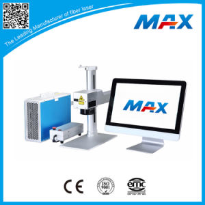 Max Photonics Smart Fiber Laser Marker Engraver Equipment for Metal, Plastic, PVC Marking pictures & photos