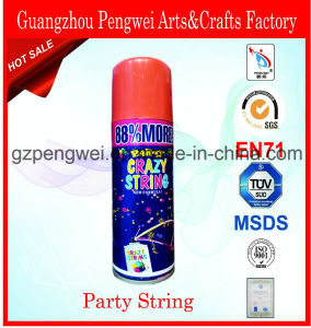 400ml Party Spray Ribbon for Christmas, Festival, Carnival, Wedding pictures & photos