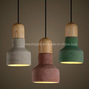Wholesale Decorative Antique Living Room Cement Concrete Ceiling Pendant Light pictures & photos