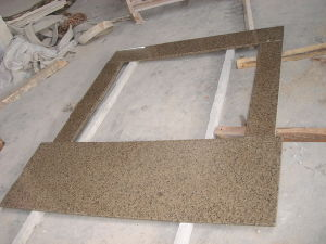 China 600X600X20mm Polished Tropic Brown Granite Tile with Ce Certificate pictures & photos