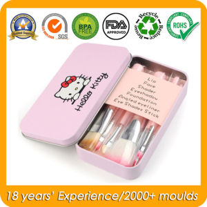 Hello Kitty Metal Tin Case for Makeup Brush Set pictures & photos