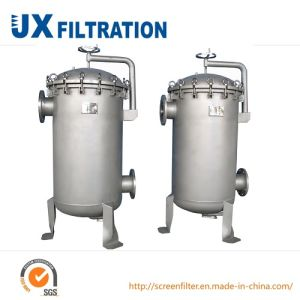 Stainless Steel Industrial Liquid Multi Housing Bag Filter pictures & photos