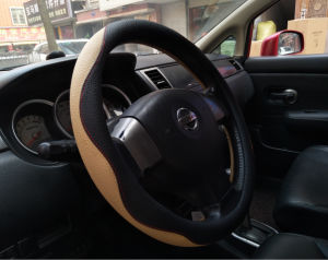 Universal Full Car Steering Wheel Cover pictures & photos