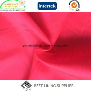 100 Polyester 210t Taffeta 63D*75D High Quality Customized for Brand Garment pictures & photos