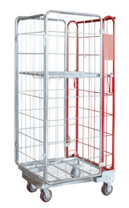Wire Mesh Storage Logistic Cage pictures & photos
