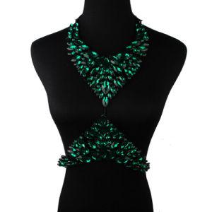 Fashion Designer Colorful Rhinestone Crystal Diamond Body Jewelry pictures & photos