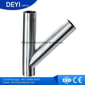 China High Quality Y Type Tee Welding Ends pictures & photos