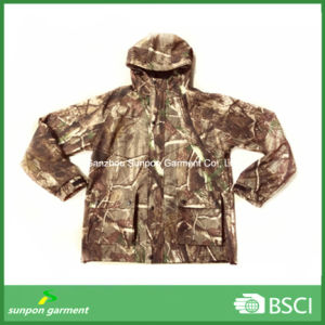 Military Camouflage Softshell Jacket with Waterproof Breathable Hunting Sports pictures & photos