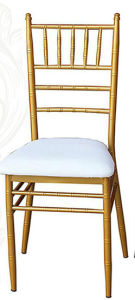 Metal Chiavari Chair with Cushion (JY-05) pictures & photos