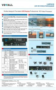 Lvp515 LED Video Processor with Sdi pictures & photos