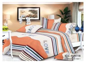 100% Polyester Fabric Bedding Set pictures & photos