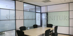 Fashion Modular Meeting/Conference Room Frost Glass and Board Partition (SZ-WS676) pictures & photos