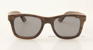 Custom Colourful Wooden Frame Polarized Folding Wooden Bamboo Sunglasses pictures & photos