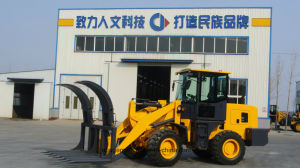 Chinese Loader with Wooden Fork, Rear Mounted Ripper pictures & photos