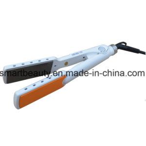 Professional Instant Heat-up 480f OEM Private Label Flat Iron Mch Titanium Hair Straightener pictures & photos