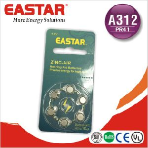 China OEM Product A312/A675/A10/A13 Zinc Air Battery Button Cell Battery pictures & photos