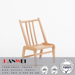 Popular Cute Modern Wooden Beech Solid Wood Chair pictures & photos