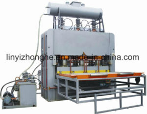 Short Cycle MDF Melamine Lamination Hot Press Machine pictures & photos