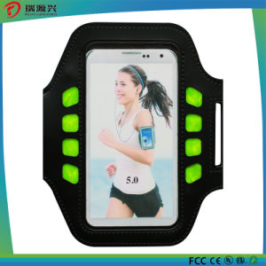 Waterproof Neoprene Armband Phone Case with Rechargeable Battery pictures & photos