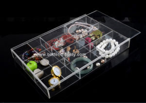 Clear Acrylic Jewelry Display Cases pictures & photos
