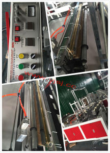 Side Sealing Hot Cutting Plastic Extruder pictures & photos