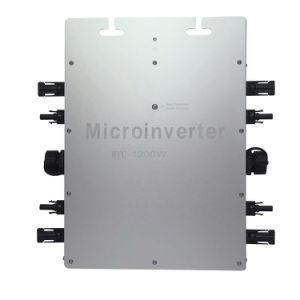 IP65 Solar Grid Tie Inverter Quad Output Micro Inverter Wvc-1200W pictures & photos