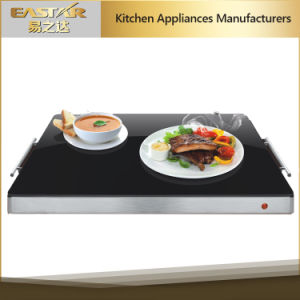 Food Warming Plate Food Warmer Tempered Glass Sabbath Plate pictures & photos