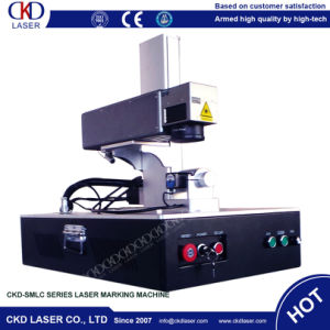 Small Sealing Fiber Laser Marking Machine pictures & photos