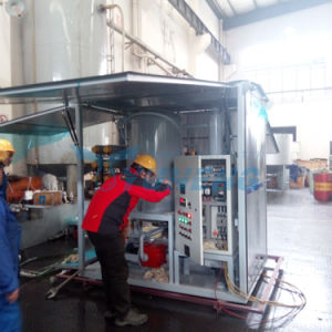 Yuneng Mobile Type Vacuum Insulating Oil Purifying Machine for Power Transformer pictures & photos