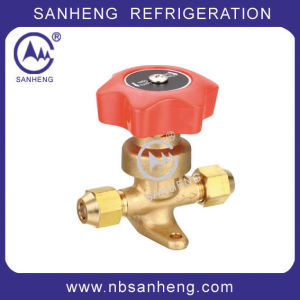 Good Quality SAE Hand Stop /Manual Shut-off Valve pictures & photos