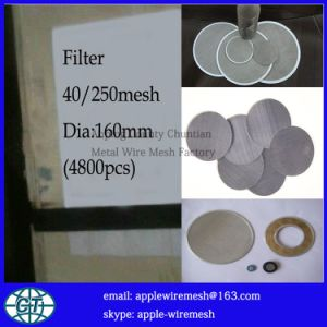 Filtering Mesh Disc pictures & photos