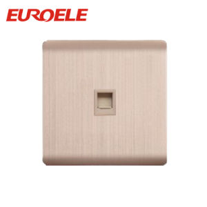 European Standard Aluminum Plate Tel and Data Socket pictures & photos