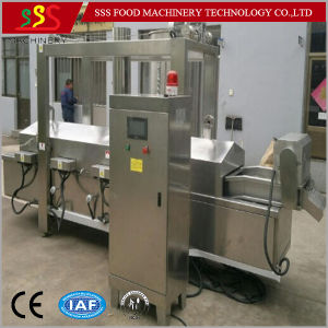 Kfc Chicken Frying Machine Automatic Continuous Fryer with Certificate pictures & photos