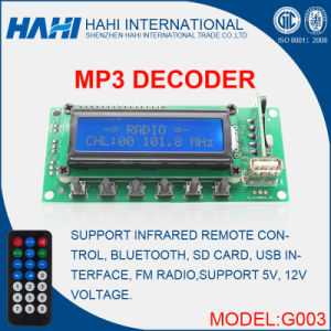 High Cost Performance FM Radio Tuner MP3 Player Chip-G003 pictures & photos