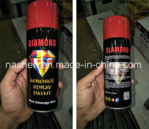 Ceauration Spray Paint Chrome Plate Paint Fluorescence Heat Resistant Paint Spray pictures & photos