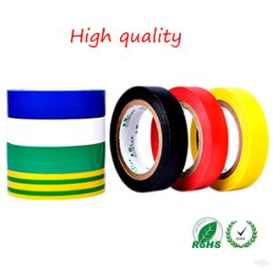 High Quality PVC Electrical Insulation Tape for Wrapping of Wires pictures & photos