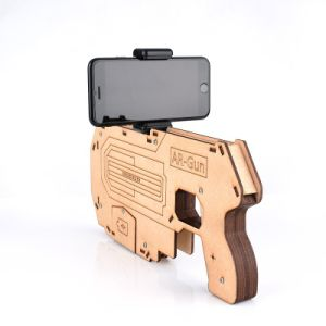 Bluetooth Ar Gun Shoot Games Controller for Cell Phone 3D Ar Gun Games Wooden Toy Gun pictures & photos