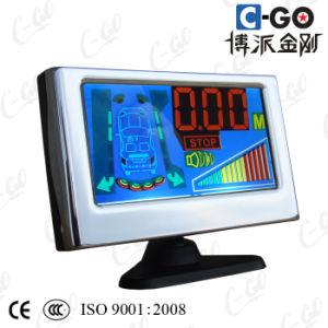 Colorful LCD Ultrasonic Parking Sensor (CG-P5448B)