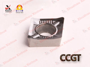 Korloy Aluminium Tungsten Carbide Turning Inserts (CCGT060204) CNC Tools pictures & photos