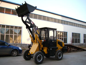 Zl10b CE Certificated Mini Wheel Loader, Mini Wheel Loader with CE pictures & photos