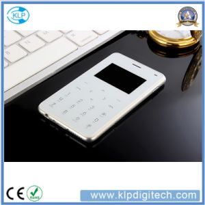 H3 Card Phone Using TFT Touching Solution, Mini Pocket Cellphone pictures & photos